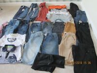 Boys clothes Age 12 - 13 years in good condition. 25 items.