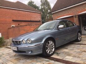 2002 Jaguar X-Type 3.0i v6 SE AWD in Zircon Blue with Full Jaguar Service History