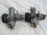 Norton Commando Motorcycle Parts....AMAL 932 Carburettors Matching Pair