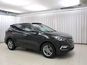 2018 Hyundai Santa Fe SPORT AWD SUV w/ HEATED LEATHER SEATS / ST