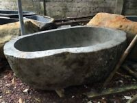 Freestanding River Rock Bathtub High Quality WMexclusivehomeuk