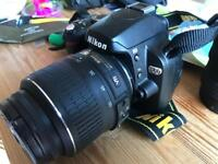 Nikon d60 with 2 lens bargain