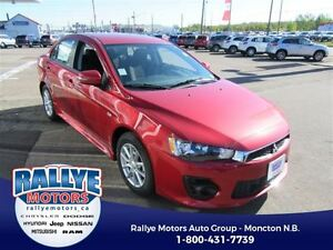 2017 Mitsubishi Lancer ES AWC** 4X4 FOR $132 B/W + N/C W/TIRES A