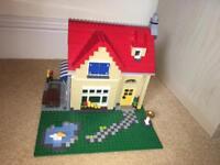 Large lego family house