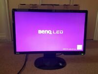 BenQ G2222-HDL monitor - 21.5 inch monitor - with original packaging/cables & in great condition
