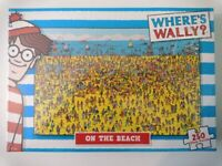 Where's Wally? On The Beach Puzzle 250 Pieces.