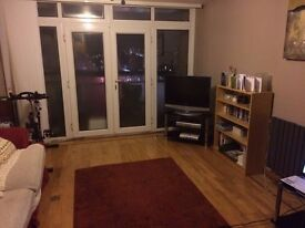 Two double rooms available in three bedroom flat - 30 seconds from Wanstead Central Line Station