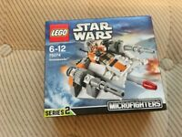 LEGO 75074 Star Wars Microfighters - Snowspeeder Set (New) - Collect Only