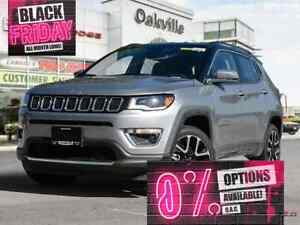 2018 Jeep Compass LIMITED | NAV | BLIND SPOT PKG | HEATED SEATS