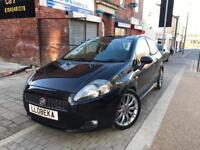 FIAT PUNTO MULTI JET LONG MOT PAN ROOF BLACK