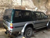Mitsubishi L200 Breaking for Spares