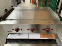 NEW GAS FLAT GRILL CATERING COMMERCIAL KITCHEN FAST FOOD CAFE KEBAB BBQ SHOP TAKE AWAY