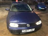 VW Golf MK4 1.8 20V GTi Blue 5-dr 12 MONTHS MOT, new clutch, SERVICE HISTORY £720