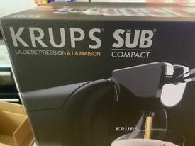 Krups sub compact home beer dispenser keg euros garden party