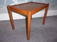 Retro Vintage mid Century beechwood coffee table in excellent condition.