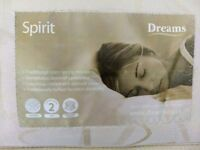 Dreams sprung double mattress