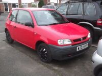 [deposit taken] IMMACULATELY CLEAN MODERN LOOKING LITTLE SEAT,WITH CREAM INTERIOR, MOT TILL JULY,