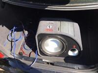 """FLI Trap 12"""" Active Sub Subwoofer & Amp Amplifier Enclosure 1200W Peak Power"""