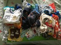 Joblot of baby boy clothes