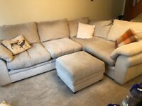 Cream corner sofa - great condition!!!