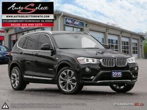 2015 BMW X3 xDrive28d AWD **DIESEL** ONLY 81K! **TECHNOLOGY P...