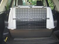 As New Large Car Animal Carrier