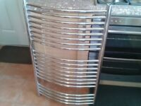 Large 1000 x 600 curved towel radiator good condition