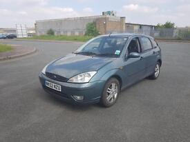 Ford Focus 1.6 2003 5 doors in very good condition drives very well 1 year MOT