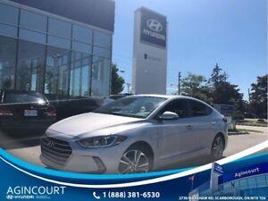 2017 Hyundai Elantra GLS SUNROOF BLINDSPOT BCAM OFF LEASE