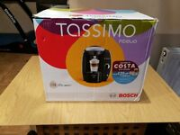 *WITH PODS* Bosch Tassimo Fidelia T40 2L Coffee Maker - Silver - Warranty/Glasses + Extras *BOXED*