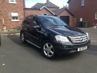 FINANCE WARRANTY 07 mercedes ml320 cdi sport MAY PART EXCHANGE PX P/EX