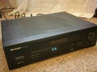 video cassette recorder SHARP