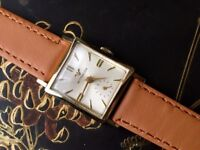 Vintage gold plated Wittnauer mens watch (longines) Christmas present (ladies watch)