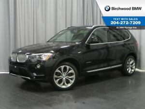 2015 BMW X3 Xdrive28i Premium Package Enhanced & Connected Dri