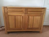 M&S Solid Oak Sideboard