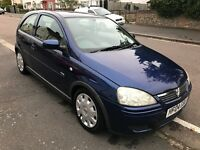 Vauxhall Corsa 2004 1.4 Petrol 53K low mileage Lady owner Automatic Blue
