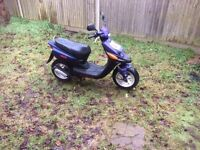 50cc Yamaha moped - Not currently running - Needs work but is repairable SPARES AND REPAIRS