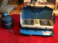 Campingaz Camping Chef Vario Stove With Grill