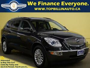 2011 Buick Enclave CXL, LEATHER, SUNROOF, Back-up Camera