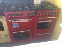 Graded 1000 Jalapeno Red Belling gas range