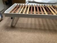 Single bed frame John Lewis- fold down legs
