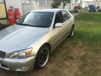 Lexus IS 200 immaculate condition low mileage original 1999 2L automatic