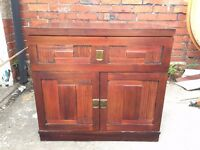 TV Cabinet wooden with storage