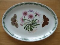 Huge Portmeirion Botanic Garden Oval Platter 13 inches