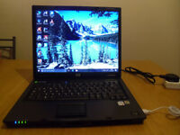 Laptop HP compaq nc6320, HDD 320GB, 2GB RAM windows 10 plus USB mouse
