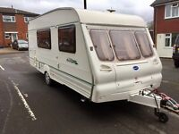 2001 Bailey Ranger with full Isabella awning