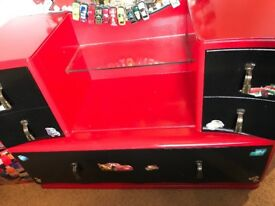 Kids Bedroom furniture upcycled cars theme