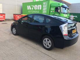 59 reg 2009 toyota prius 1.8 hybrid auto 72k 12 mot, 7 stamps toyota, hpi clear 100%