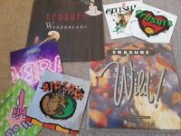 Erasure Vinyl bundle