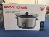 Morphy Richards Slow Cooker - New unboxed